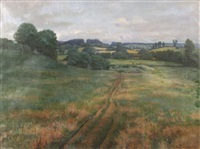 path through the field by george w. picknell