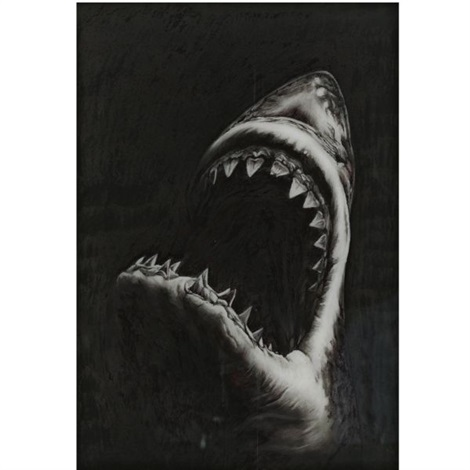 shark study 9 by robert longo
