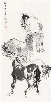 四骏图 by liu boshu