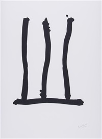 hommage to picasso by robert motherwell