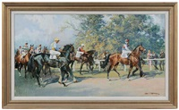 leaving the paddock by john theodore eardley kenney
