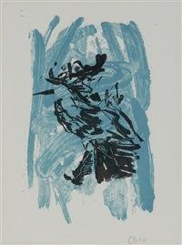 untitled (from adler) by georg baselitz
