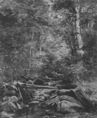 trout brook, francois nh by clifford grear alexander