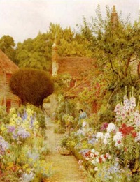 a country garden by george marks