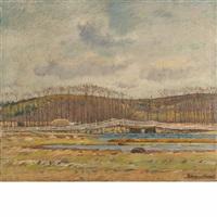 old bridge, ipswitch, massachusetts by theodore wendel