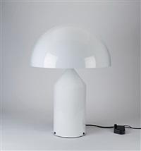 atollo table light by vico magistretti