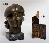 cabeza femenina by martin simon