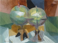 globes by jacques villon