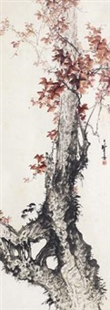 花鸟 by liang zhanfeng