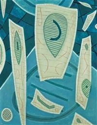 abstract composition by henri bernard goetz