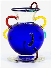 vase by ettore sottsass