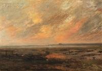 coastal scene by edward b. gay