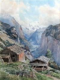 valley of lauterbrunnen by charles jones way
