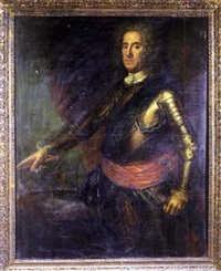 portrait of lord george hamilton, earl of orkney by martin maingaud