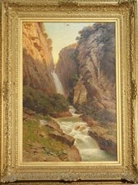 cascade by jules coulange-lautrec