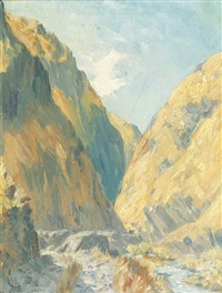untitled (lindis pass, queenstown, new zealand) by albert henry fullwood