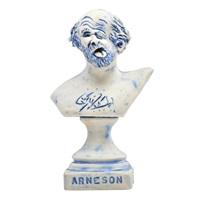self-portrait trophy bust by robert arneson