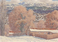 early snow by carl von hassler