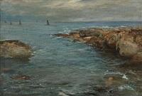 on the coast kingsbarns by george ogilvy reid
