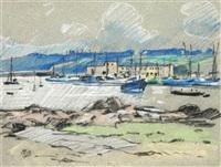 port de pêche by pierre brette