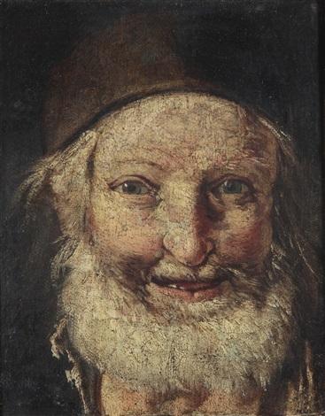 kopf eines alten mannes by giacomo francesco cipper