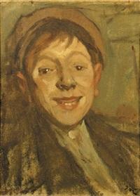 a portrait of kobus scheffer by pieter van looij
