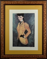 l'ecuyère by amedeo modigliani