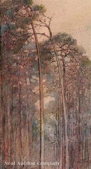 wooded landscape by alice ravenel huger smith
