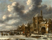 winterlandschaft by thomas heeremans