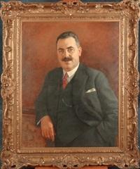 portrait d'homme by louis buisseret