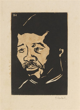 neger sambo by erich heckel