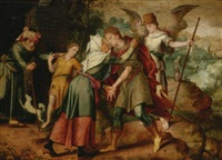 the return of tobias by master of the prodigal son