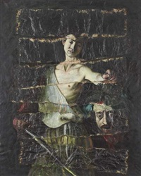 restored painting no.4 by igor kopystiansky