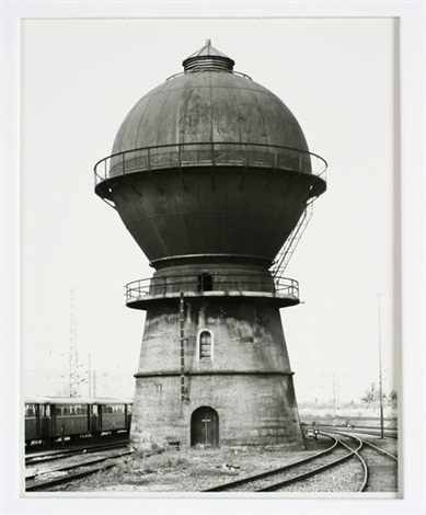 wassertürme 2 works by bernd and hilla becher