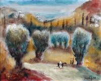 landscape by albert goldman