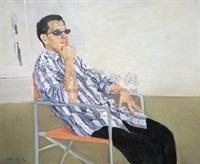 画家萧先生 by jiao xiaojian