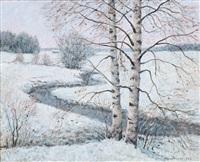 birches by olavi hurmerinta