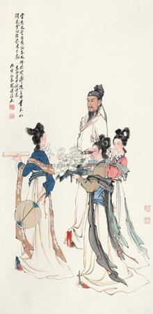 献花图 by liu lingcang