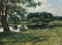 a summer afternoon by clifford grear alexander