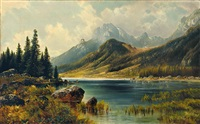 der hintersee by carl le feubure