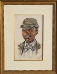 portrait of a young man by bessie pease gutmann