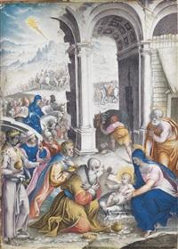 die anbetung der könige by giulio clovio