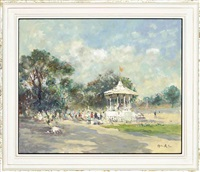 the bandstand (+ beach kiosk; 2 works) by john ambrose