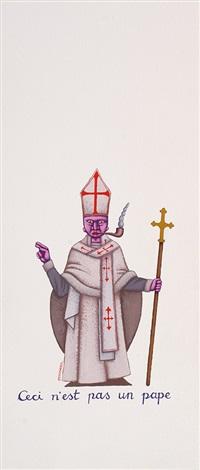 ceci nest pas un pape by dadara