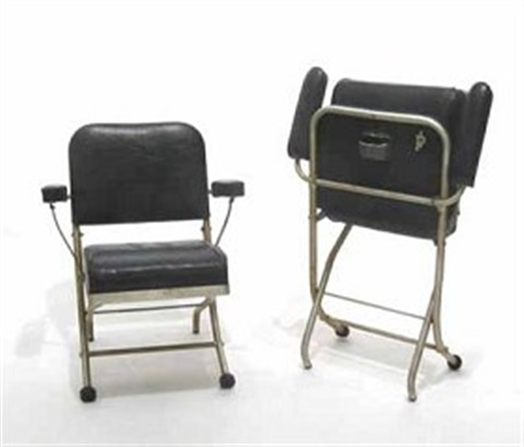 Set Of 4 Folding Chairs By Warren Mcarthur