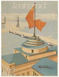 leningrad (b. zelensky) by posters: soviet