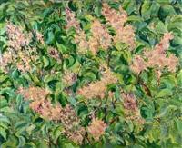 les lilas by aleksandr yakovlevich golovin