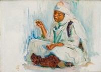 la jeune marocaine by alphonse léon germain-thill