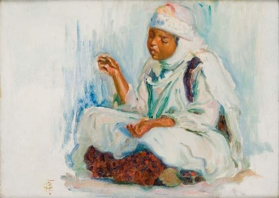 la jeune marocaine by alphonse léon germain thill