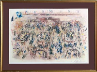 stock exchange by leroy neiman